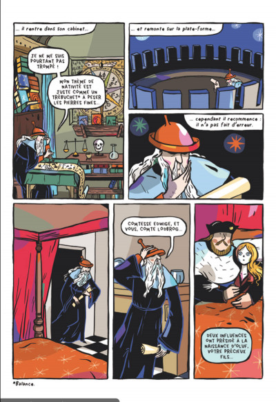 Page 4 le chevalier double ; d'après l'œoeuvre de Théophile Gautier