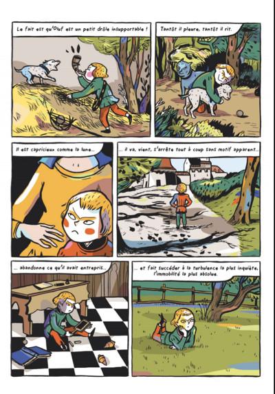 Page 8 le chevalier double ; d'après l'œoeuvre de Théophile Gautier
