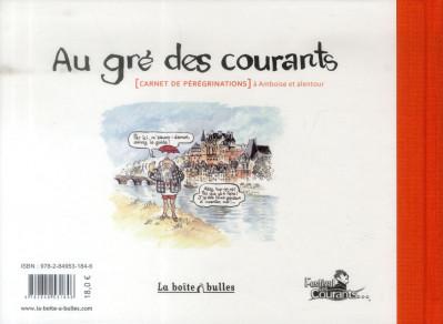 Dos au gré des courants ; (carnet de pérégrinations) à Amboise et alentour