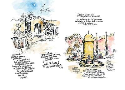 Page 4 au gré des courants ; (carnet de pérégrinations) à Amboise et alentour