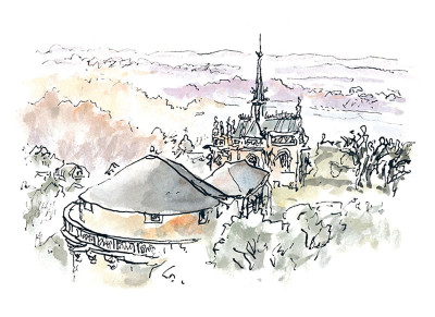 Page 5 au gré des courants ; (carnet de pérégrinations) à Amboise et alentour