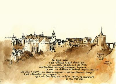 Page 6 au gré des courants ; (carnet de pérégrinations) à Amboise et alentour