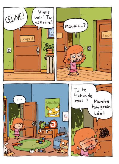 Page 1 où es-tu Léopold ? tome 1 - invisible c'est pas du jeu