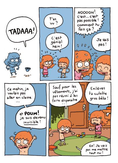Page 2 où es-tu Léopold ? tome 1 - invisible c'est pas du jeu