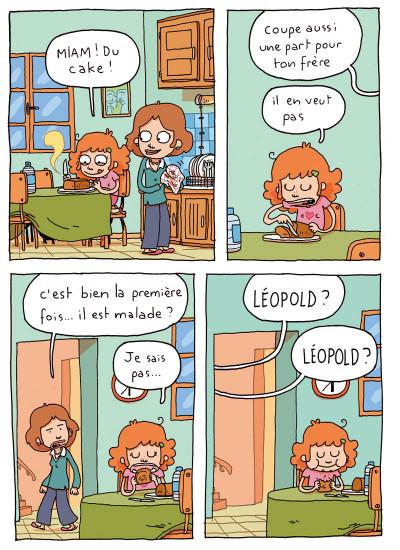 Page 4 où es-tu Léopold ? tome 1 - invisible c'est pas du jeu