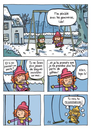 Page 7 où es-tu Léopold ? tome 1 - invisible c'est pas du jeu