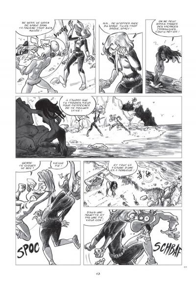Page 5 space Kariboo - ton copain avec Marianne sur les genoux