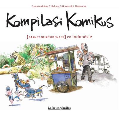 Couverture kompilasi komikus ; (carnet de résidences) en Indonésie