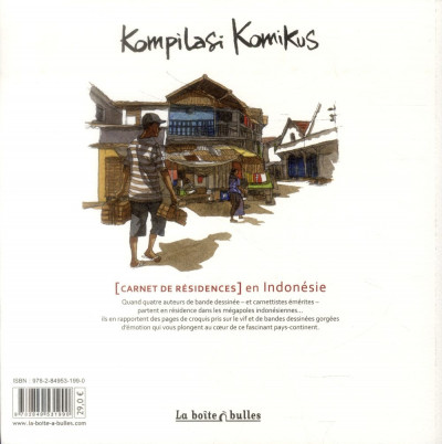 Dos kompilasi komikus ; (carnet de résidences) en Indonésie