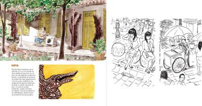 Page 1 kompilasi komikus ; (carnet de résidences) en Indonésie