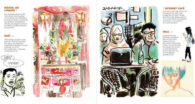Page 2 kompilasi komikus ; (carnet de résidences) en Indonésie