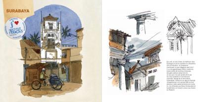 Page 5 kompilasi komikus ; (carnet de résidences) en Indonésie