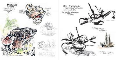 Page 8 kompilasi komikus ; (carnet de résidences) en Indonésie