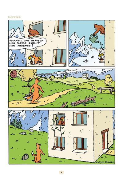 Page 2 L'ours Barnabé tome 15 - Un Monde Parfait
