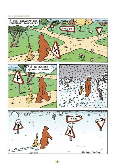 Page 6 L'ours Barnabé tome 15 - Un Monde Parfait