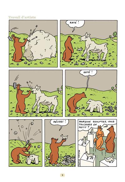 Page 7 L'ours Barnabé tome 15 - Un Monde Parfait