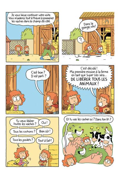 Page 1 Où es-tu Léopold ? tome 3 - Micmac à la ferme