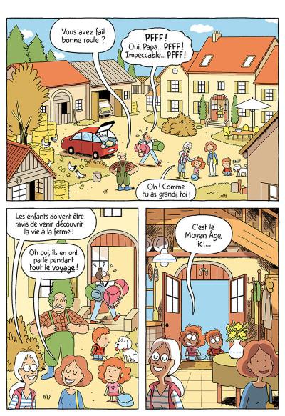 Page 2 Où es-tu Léopold ? tome 3 - Micmac à la ferme