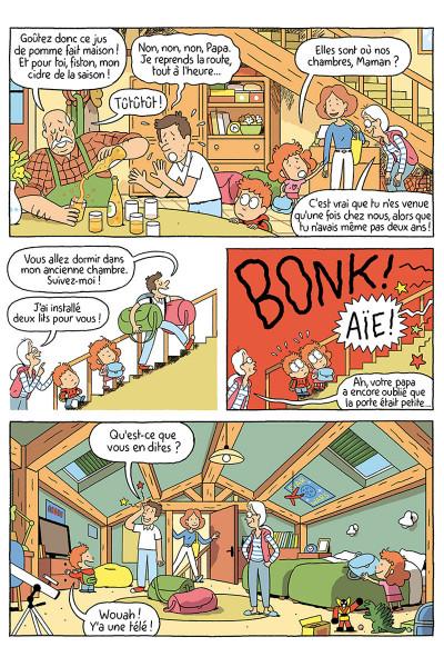 Page 3 Où es-tu Léopold ? tome 3 - Micmac à la ferme