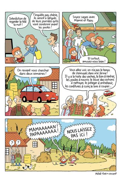 Page 4 Où es-tu Léopold ? tome 3 - Micmac à la ferme