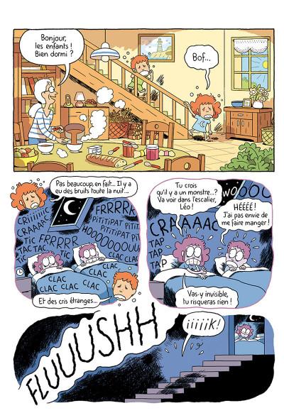 Page 5 Où es-tu Léopold ? tome 3 - Micmac à la ferme