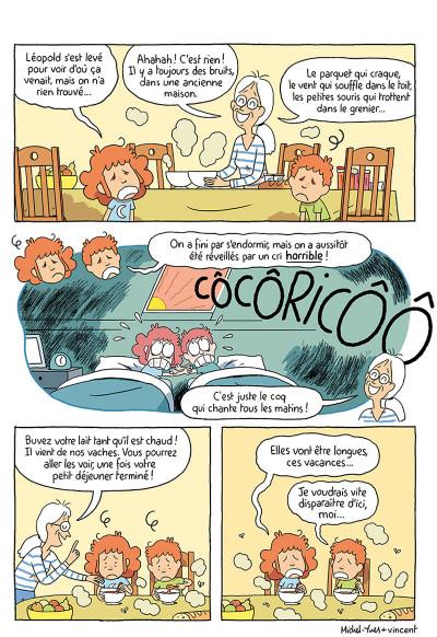 Page 6 Où es-tu Léopold ? tome 3 - Micmac à la ferme