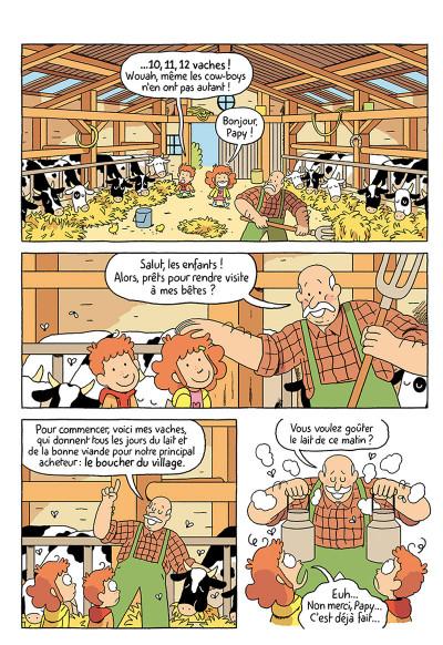 Page 7 Où es-tu Léopold ? tome 3 - Micmac à la ferme