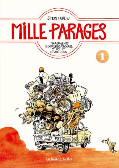 Couverture Mille parages tome 1 - fragments bourlingatoires d'ici et d'ailleurs