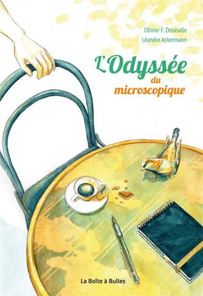 Couverture L'Odyssée du microscopique