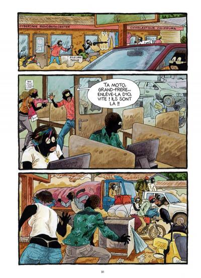 Page 2 Tempête sur Bangui tome 1