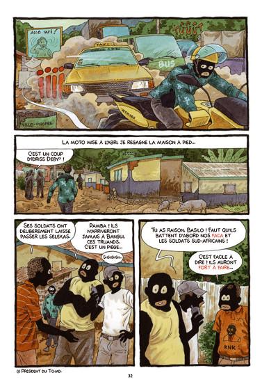 Page 3 Tempête sur Bangui tome 1