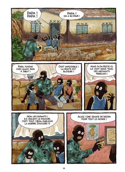 Page 4 Tempête sur Bangui tome 1