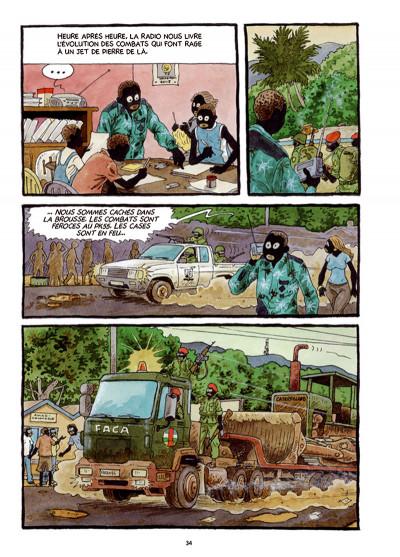 Page 5 Tempête sur Bangui tome 1