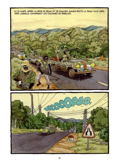 Page 6 Tempête sur Bangui tome 1