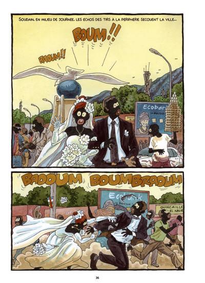 Page 7 Tempête sur Bangui tome 1