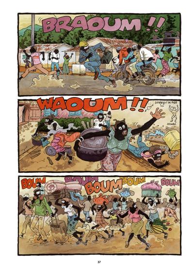 Page 8 Tempête sur Bangui tome 1