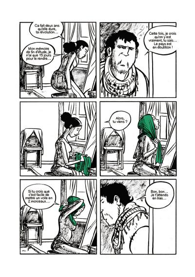 Page 5 Doigts d'honneur - Révolution en Égypte et droits des femmes