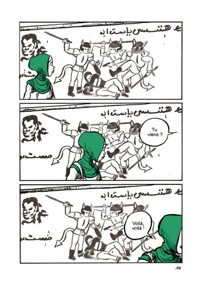 Page 8 Doigts d'honneur - Révolution en Égypte et droits des femmes