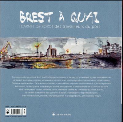 Dos Brest à quai