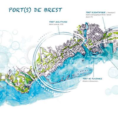 Page 1 Brest à quai