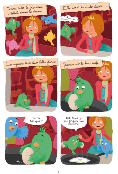 Page 6 Princesse Libellule tome 3
