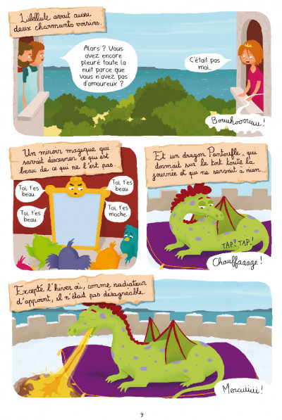 Page 7 Princesse Libellule tome 3