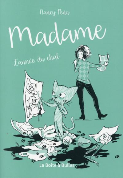 image de Madame - Mon chat en quatre saisons