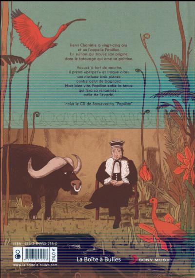 Dos Sanseverino est papillon (livre-CD)