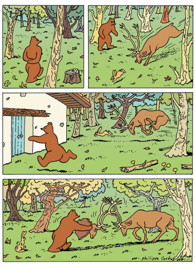 Page 4 L'ours Barnabé tome 17