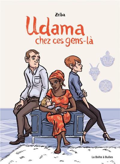 Couverture Udama, chez ces gens-là