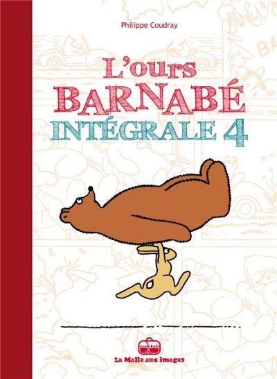 Couverture L'ours Barnabé - intégrale tome 4