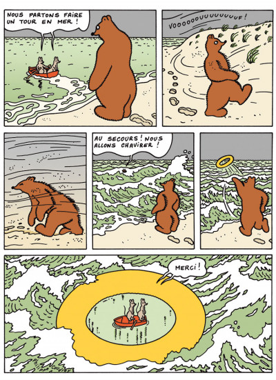 Page 5 L'ours Barnabé - intégrale tome 4