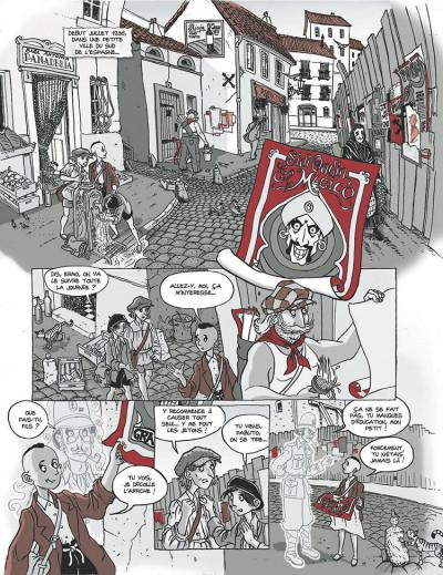 Page 1 Les fantômes de Ermo tome 1