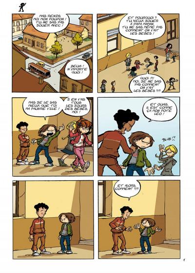 Page 1 trois aventures de Léo Cassebonbons